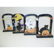 Halloween Pictures Frames, Assorted