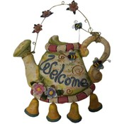 Welcome Sign, Watering Can