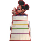 Disney Mickey Blue Jean Growth/Chores Chart