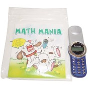 Math Mania Book &amp;amp; Cell Phone Calculator