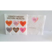 "5"" Candy Heart Napkins"