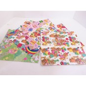 Flat Gift Wrap, All Occasion - Assorted Wholesale Bulk