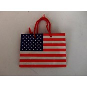Gift Bag, American Flag - Small