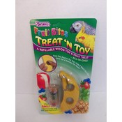 Fruit Bites Treat 'N Toy For Birds- 5 pk