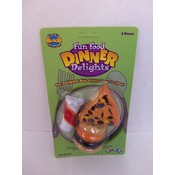 Fun Food Dinner Delights For Small Animals- 3 Pcs