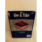 Patriotic Cookie/Candy Boxes - 2pk Wholesale Bulk