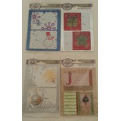 Holiday Self-Stick Gift Tags, Assorted - 10ct