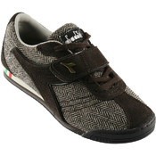 Diadora Ladies Athletic Shoes - Donna Bling - Light Brown Sizes 6-11