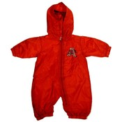 Infant Arkansas Razorbacks Nylon Wind Coverall
