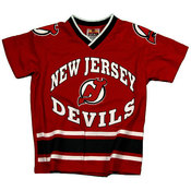 New Jersey Devils Boys Jersey Knit Top