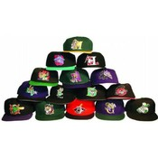 Minor League Fitted Baseball Hat Mix Wholesale Bulk