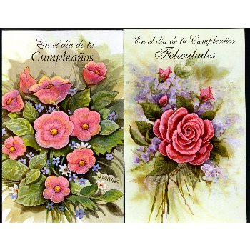 wholesale assortment of spanish birthday cards sku  dollardays, Birthday card