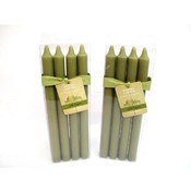 4 Pack Taper - Spruce, Unscented