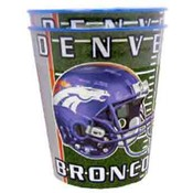 Denver Broncos  2Pk 16oz Metallic Cups