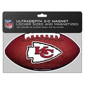 Kansas City Chiefs 3D Football Magnet