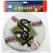 Chicago White Sox 3D Baseball Magnet