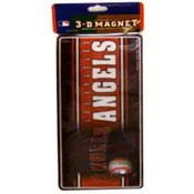 "Los Angeles Angels 3D 8"" Magnet"