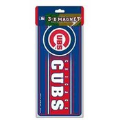 "Chicago Cubs 3D 8"" Magnet"