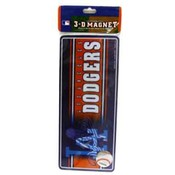 "Los Angeles Dodgers 3D 8"" Magnet"