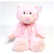 Russ Plush Floppy Pink Bear