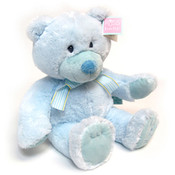 Russ Plush Floppy Blue Bear