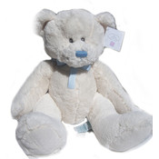 Russ Large Blue White Lullaby Bear