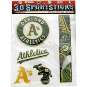 Oakland A'S Domed Decal Sheet