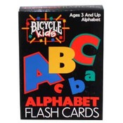 Bicycle Brand Alphabet Flash Cards