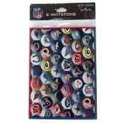 NFL 8 Count Invitations Wholesale Bulk