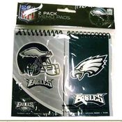 Philadelphia Eagles 2 pack Memo Pad Wholesale Bulk
