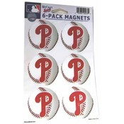 Philadelphia Phillies 6 Pack Magnet Wholesale Bulk