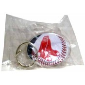 Boston Red Sox Oval Key Ring