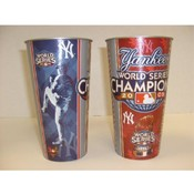 NY Yankees World Series Champions 32oz. cup