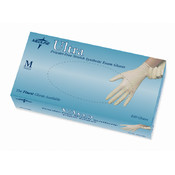 Medline Ultra Synthetic Exam Gloves- Large