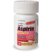 Chewable Aspirin 36 Count Bottle