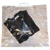 Clear Shopping Bag with Snap Handles