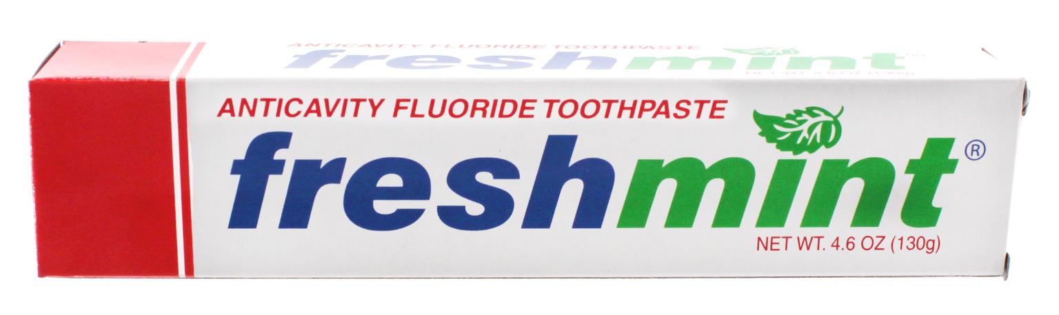 Freshmint Individually Boxed Fluoride TOOTHPASTE 4.6 oz (56818)