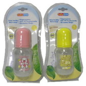 4 OZ BPA Free - Plastic Baby Bottle