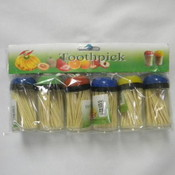 6Pc Toothpick W/Holder