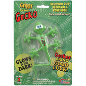 Gecko Suction Cup Bendable - Assorted Colors