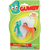 Gumby and Pokey Mini 3in Bendable Pair