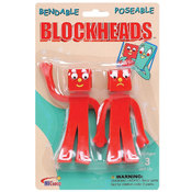 Gumby Blockheads 5in Bendable Pair Wholesale Bulk