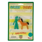 Gumby Retro Mini Pair 3' Bendable Wholesale Bulk