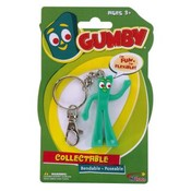 Gumby Bendable Key Chains 2 1/2' Wholesale Bulk