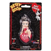 "Betty Boop ""I Love You"" 3D Bendable Key Chains"