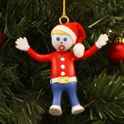 Mr. Bill Bendable Holiday Dangler
