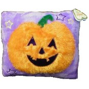 "Halloween 13"" Plush Pumpkin Pillow"