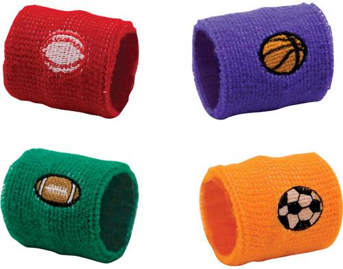 Assorted Sports Ball WRIST BANDs (1994564)
