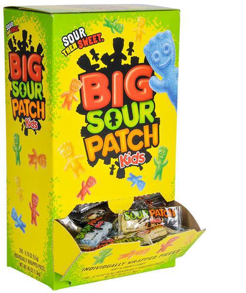 Big Sour Patch Kids CANDY 240ct Box [1949209]