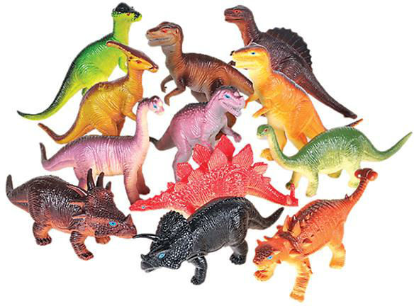Assorted Dinosaur FIGURINEs (1998119)